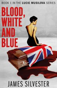 blood white and blue fiction novel from james silvester